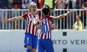 Liga Iberdrola   Atlético de Madrid Femenino-Real Sociedad   Esther