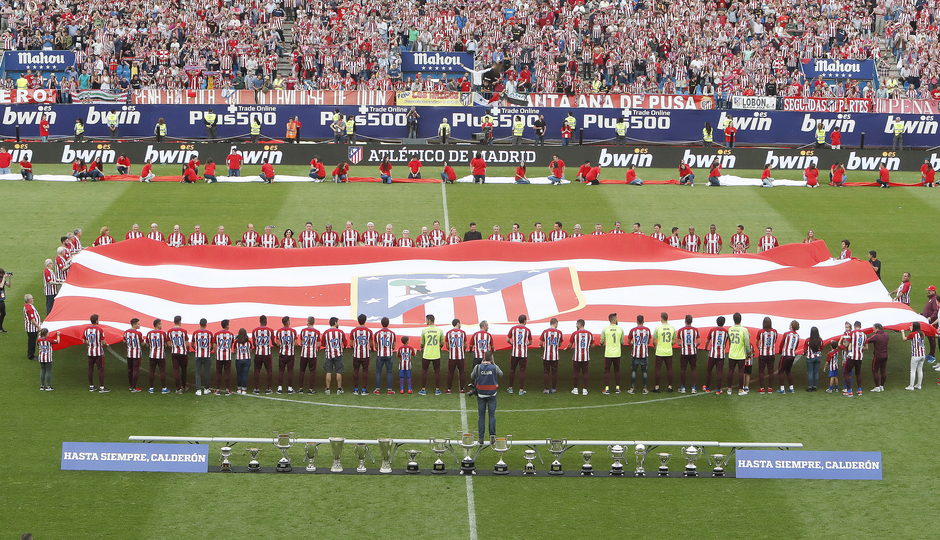 Temp. 16/17 | Homenaje Calderón | Bandera