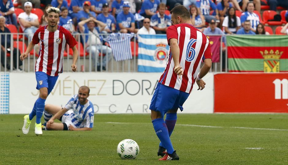 Temp. 16/17 | Atlético de Madrid B - Gimnástica | Keidi