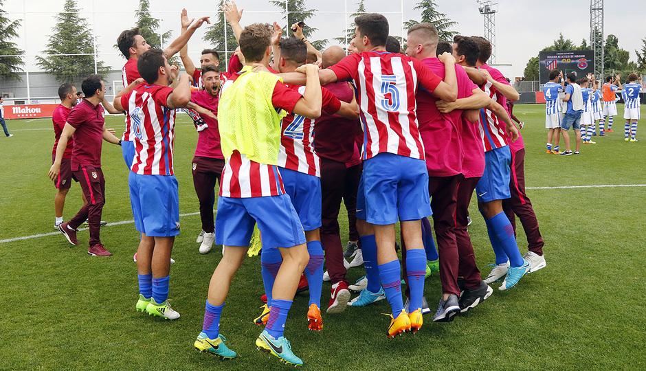 Temp. 16/17 | Atlético de Madrid B - Gimnástica | Celebración
