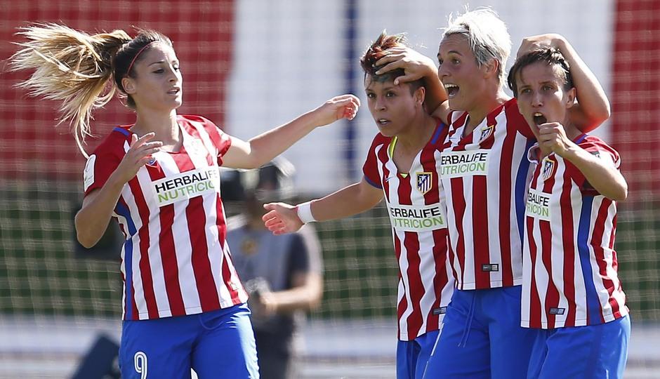 Copa de la Reina | Atlético de Madrid Femenino -Rayo Vallecano | Celebración