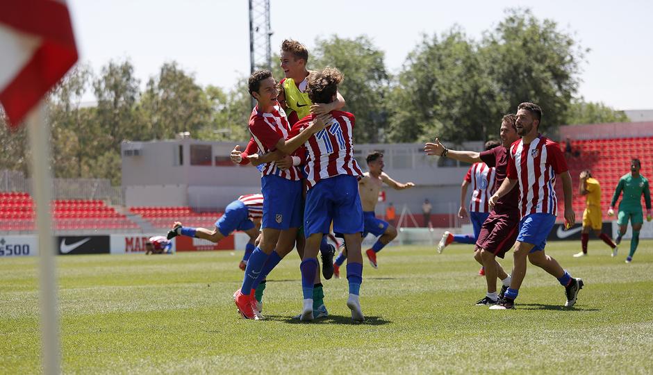 Temp. 16/17 | Atlético de Madrid - Juvenil A.
