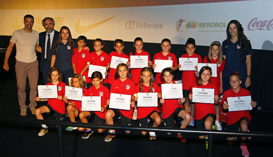 XVI Gala de temporada del Atlético de Madrid Femenino