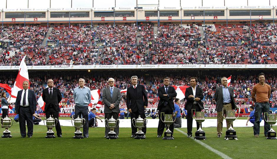 Ofrecimiento a la afición de la Copa del Rey 2013