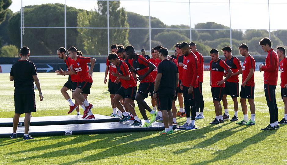 Temp. 17-18 | Entrenamiento en la Ciudad Deportiva Wanda. 8/7/2017