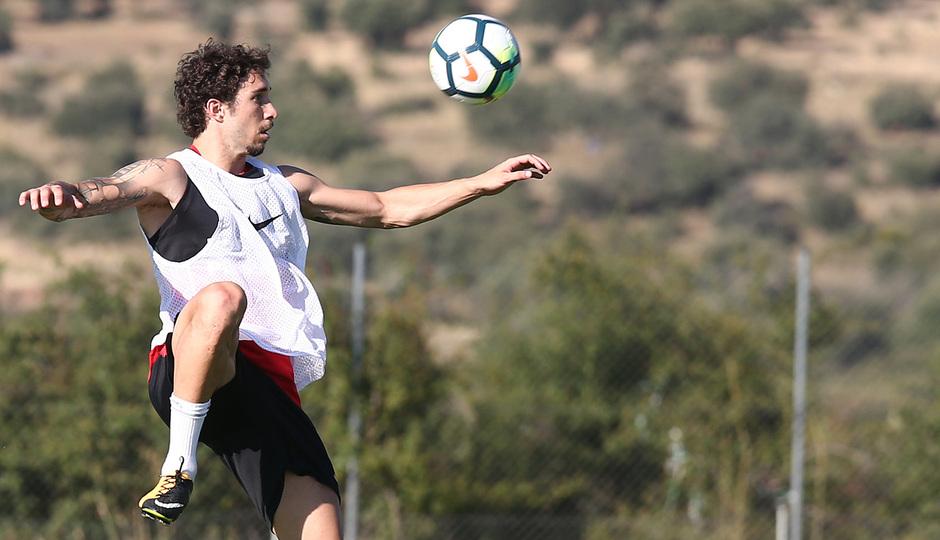 Temp. 17-18 | Entrenamiento en Los Ángeles de San Rafael. 11/7/2017. Vraljko