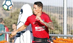 Temp. 17-18 | Entrenamiento en Los Ángeles de San Rafael. 15/7/2017. Torres