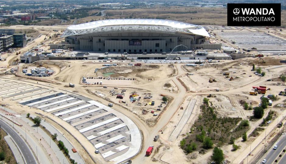 Wanda Metropolitano. 13 de julio de 2017.