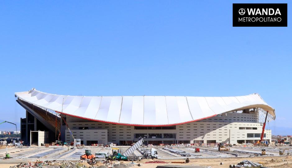 Wanda Metropolitano. 21 de julio de 2017.