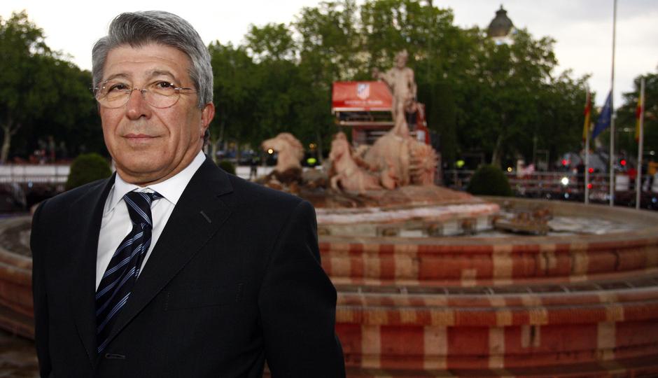 Enrique Cerezo, diez años como presidente