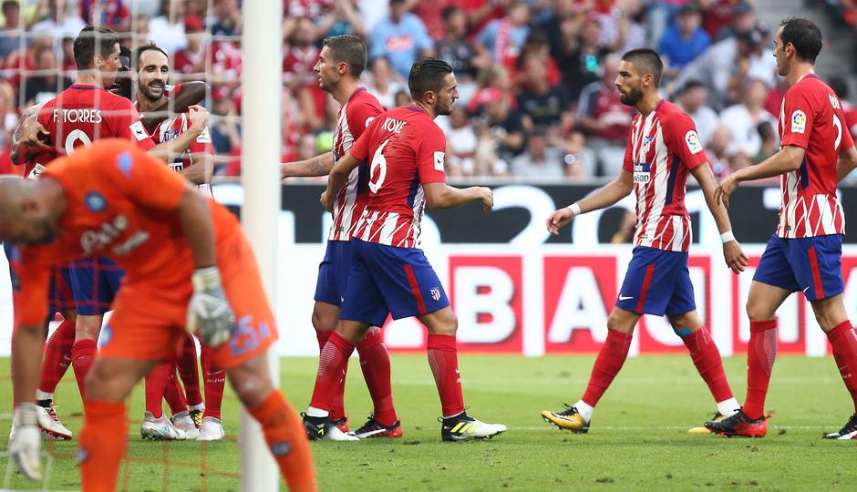 Audi Cup 2017 | Atlético de Madrid - Nápoles. Gol Torres