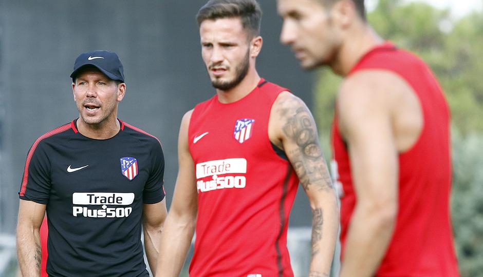 Temporada 16/17 | 04/08/2017 | Entrenamiento en la Ciudad Deportiva Wanda | Simeone