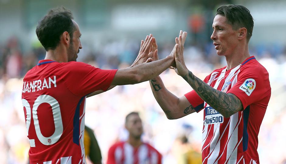 Amistoso | Brighton - Atlético de Madrid. Torres y Juanfran