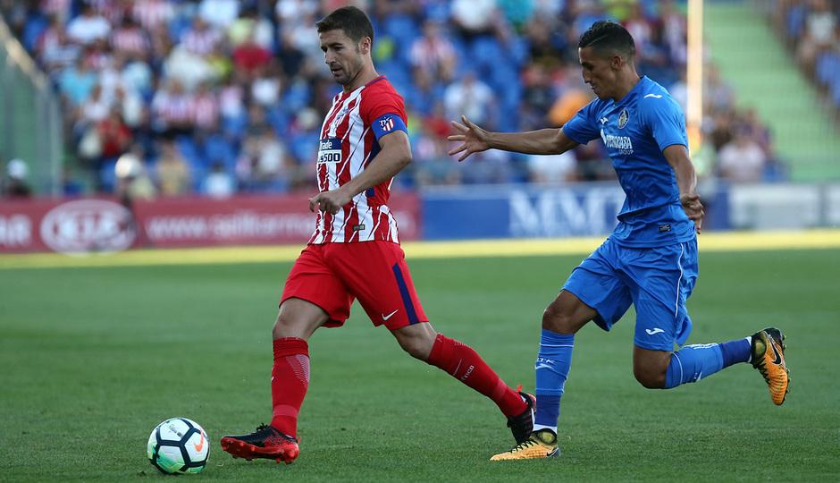 Amistoso | Getafe - Atlético de Madrid. Gabi