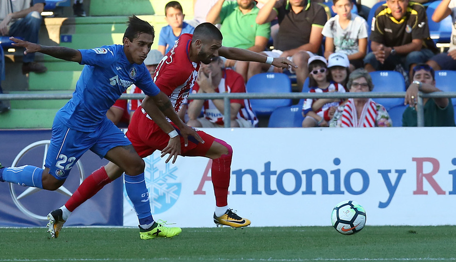 Amistoso | Getafe - Atlético de Madrid. Carrasco