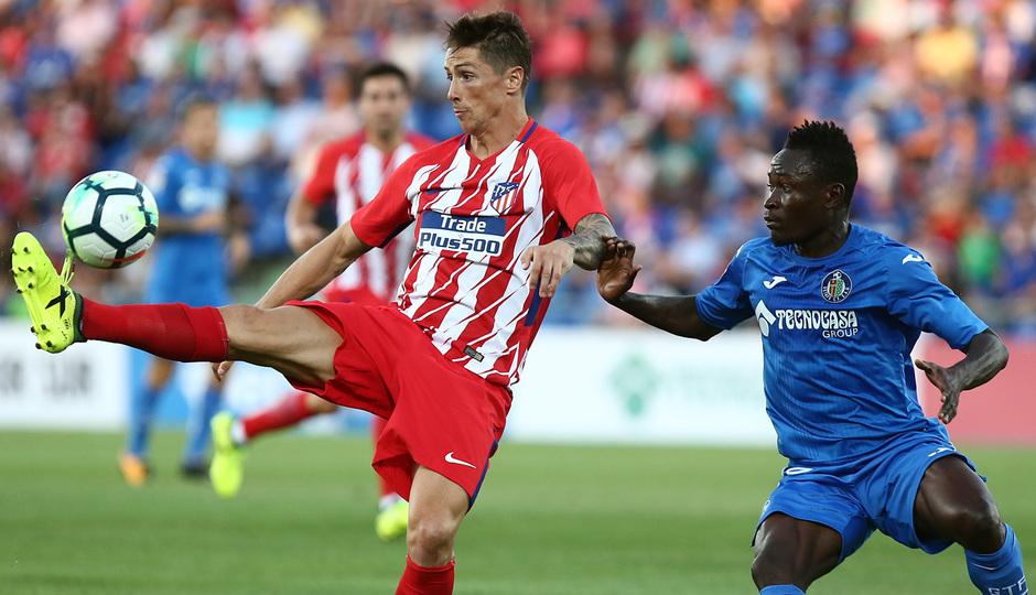 Amistoso | Getafe - Atlético de Madrid. Torres