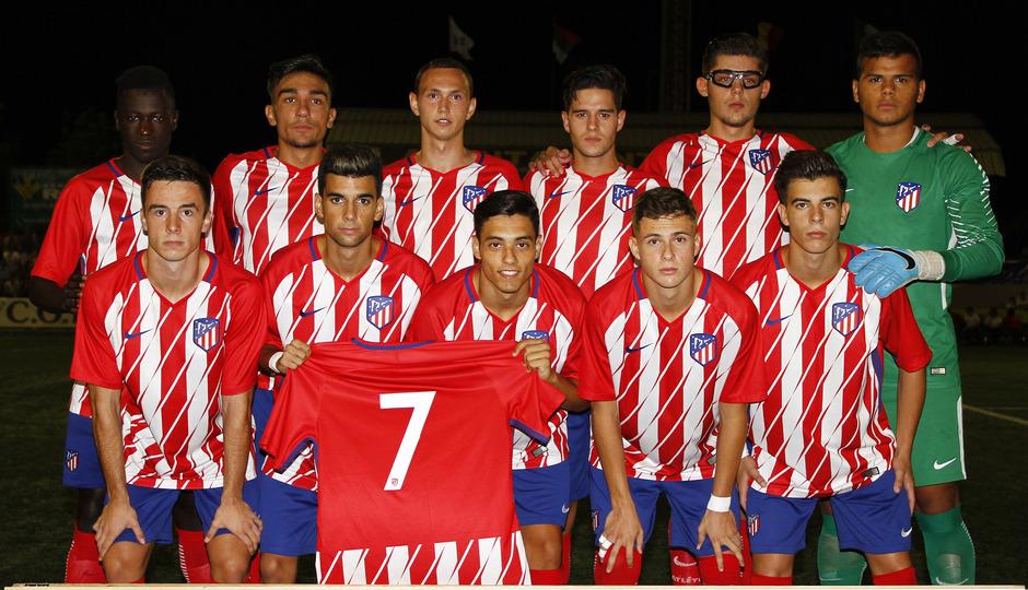 COTIf - Atlético de Madrid juvenil vs Valencia juvenil.  Once