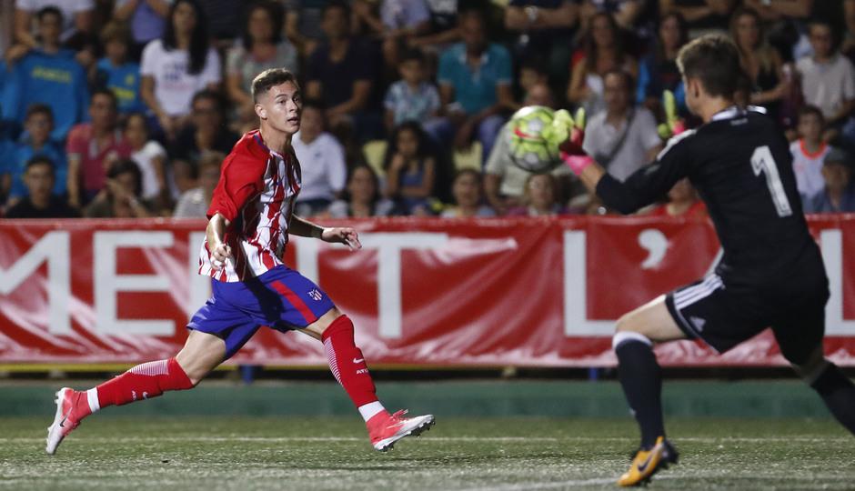COTIF - Atlético de Madrid juvenil vs Valencia juvenil.