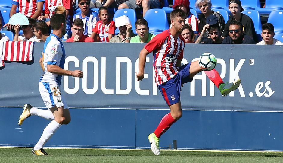 Temp. 17-18 | Amistoso | Leganés - Atlético de Madrid. Sergi