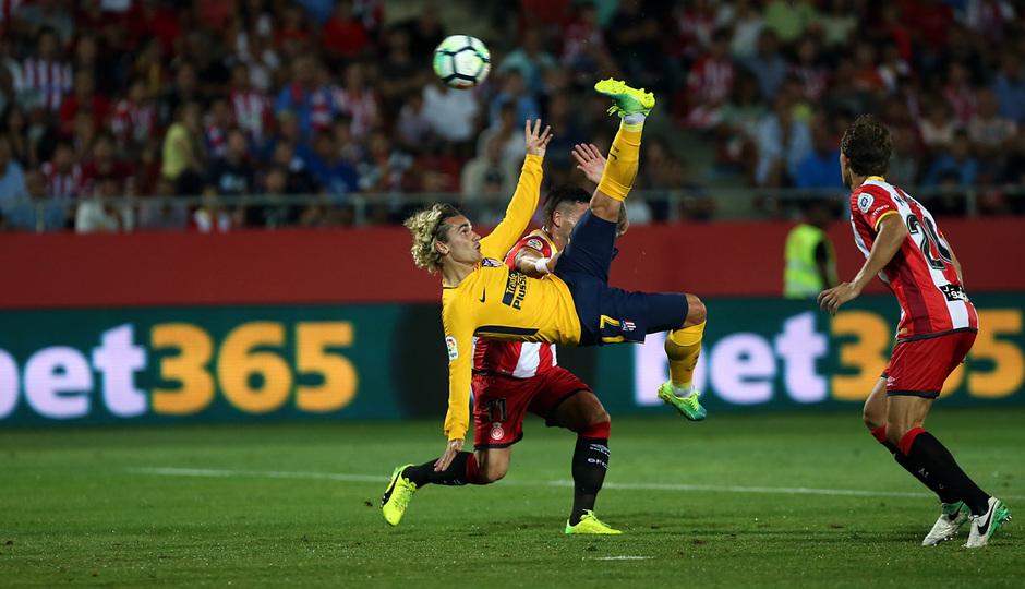 Temp. 17-18   Girona - Atlético de Madrid   Griezmann