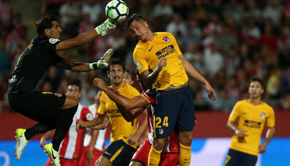 Temp. 17-18   Girona - Atlético de Madrid   Giménez