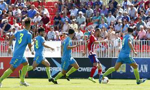 Segunda B | Atlético de Madrid B - Gimnástica Segoviana. Keidi