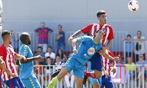 Segunda B | Atlético de Madrid B - Gimnástica Segoviana. Montoro