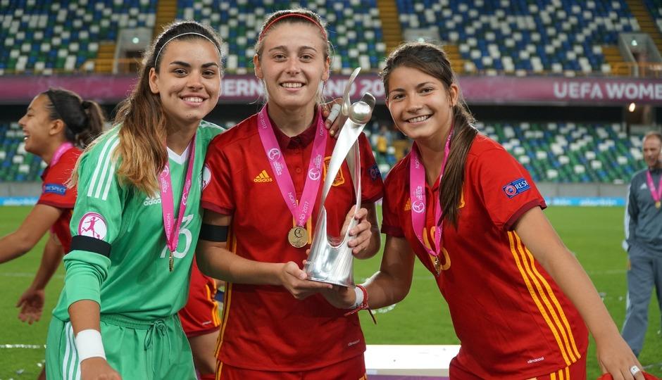 Temp. 17-18 | Menayo, María Isabel y Ana Marcos, campeonas de Europa Sub-19