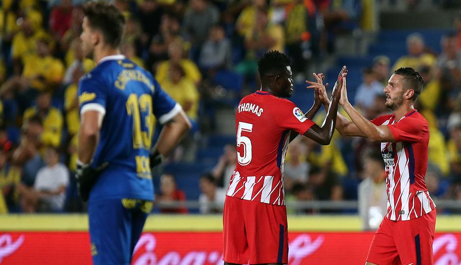 Temp. 17-18 | Las Palmas - Atlético de Madrid | Thomas y Koke