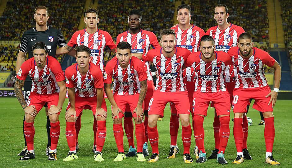Temp. 17-18 | Las Palmas - Atlético de Madrid | Once ok