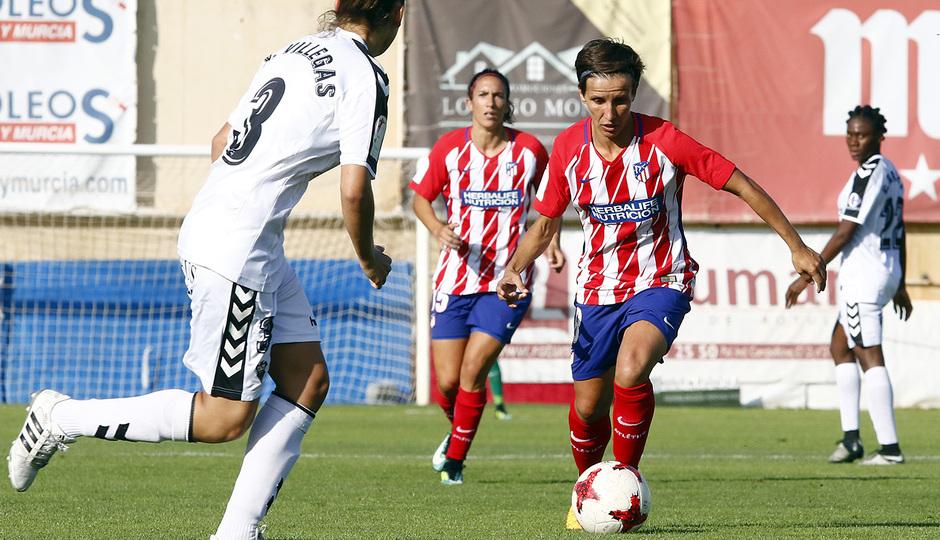 Temp. 2017-18 | Fundación Albacete - Atlético de Madrid Femenino | Sonia