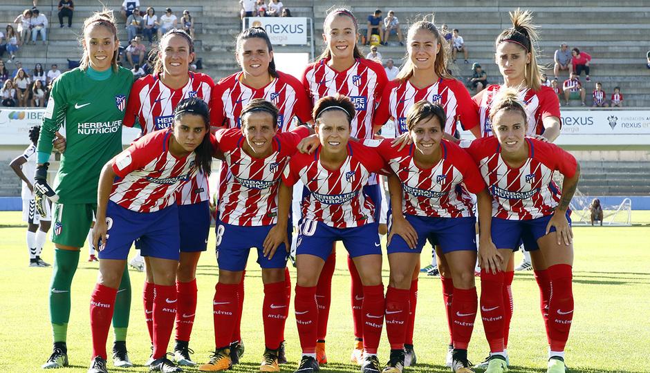 Temp. 2017-18 | Fundación Albacete - Atlético de Madrid Femenino | Once