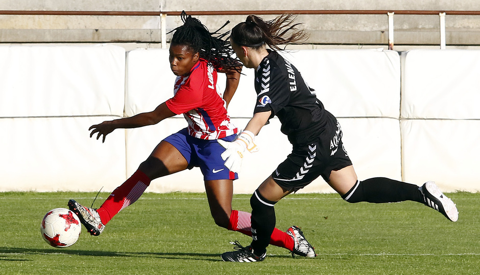 Temp. 2017-18 | Fundación Albacete - Atlético de Madrid Femenino | Ludmila