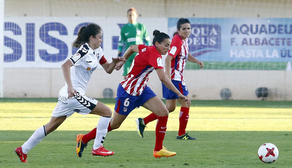 Temp. 2017-18 | Fundación Albacete - Atlético de Madrid Femenino | Kaci