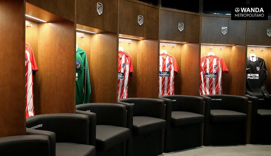Wanda Metropolitano | 06/09/2017 | Vestuario del primer equipo