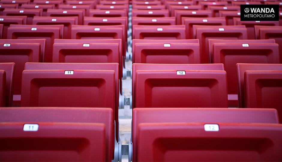 Wanda Metropolitano | 06/09/2017 | Numeración aforo general
