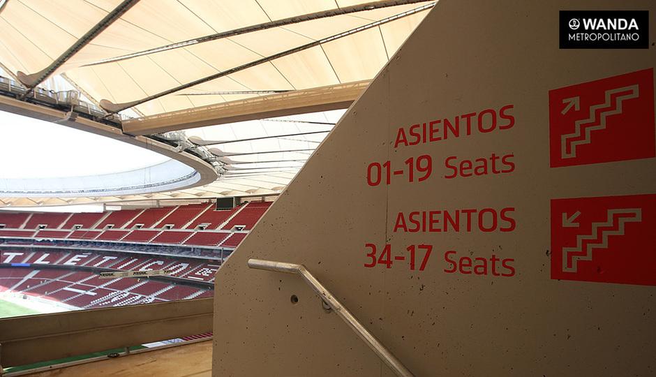 Wanda Metropolitano | 06/09/2017 | Señalización