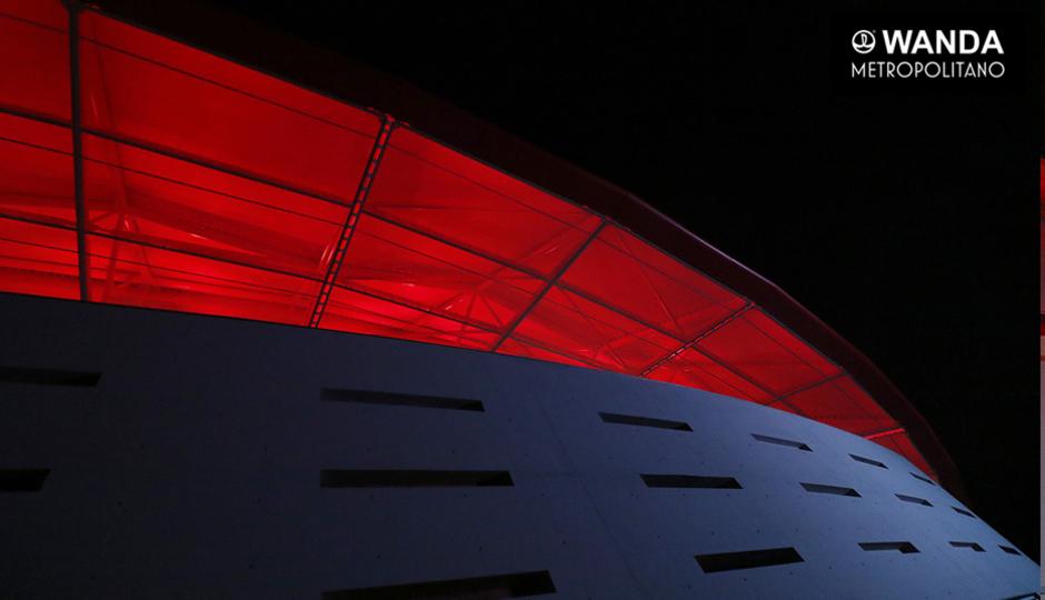 Iluminación del Wanda Metropolitano