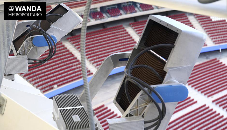 Luces. Wanda Metropolitano