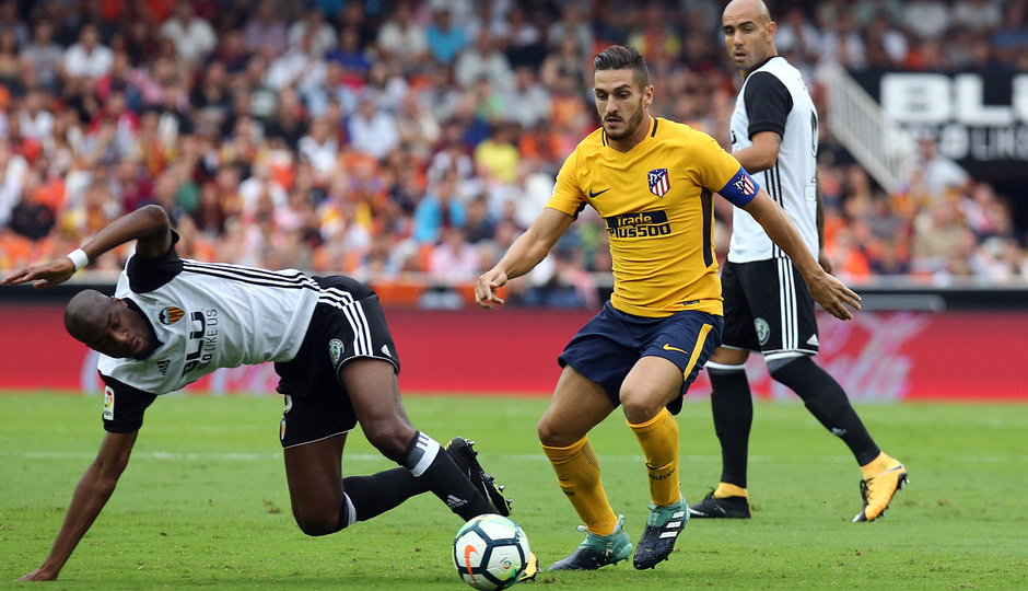 Temp. 17-18 | Valencia - Atlético de Madrid | Koke