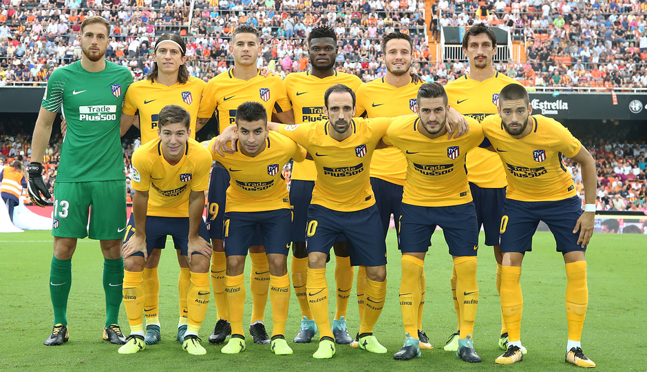 Temp. 17-18 | Valencia - Atlético de Madrid | Once