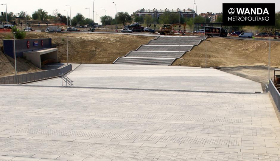 Metro: Estación Estadio Metropolitano