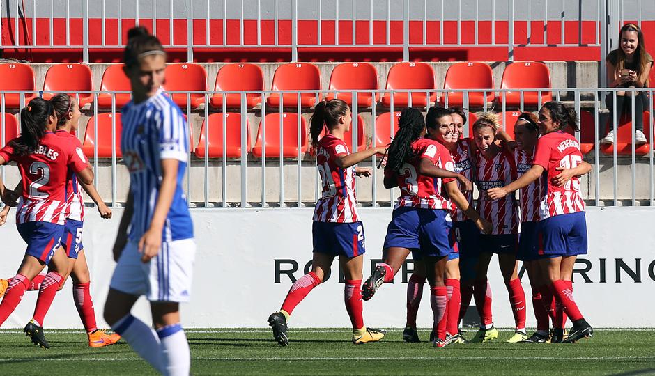 Temp. 17-18 | Atlético de Madrid Femenino - Real Sociedad | Celebración