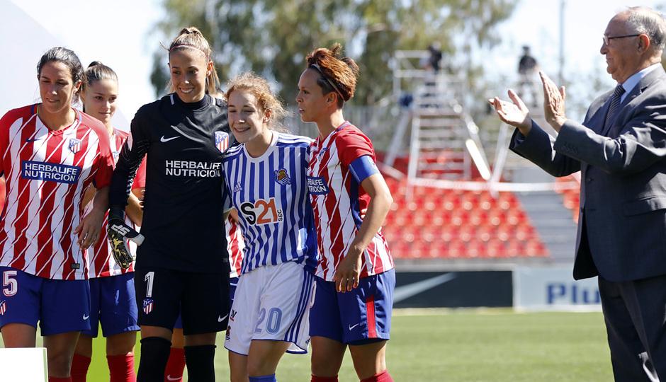 Temp. 17-18 | Atlético de Madrid Femenino - Real Sociedad | Bea Beltrán