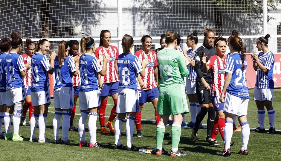 Temp. 17-18 | Atlético de Madrid Femenino - Real Sociedad | Pasillo