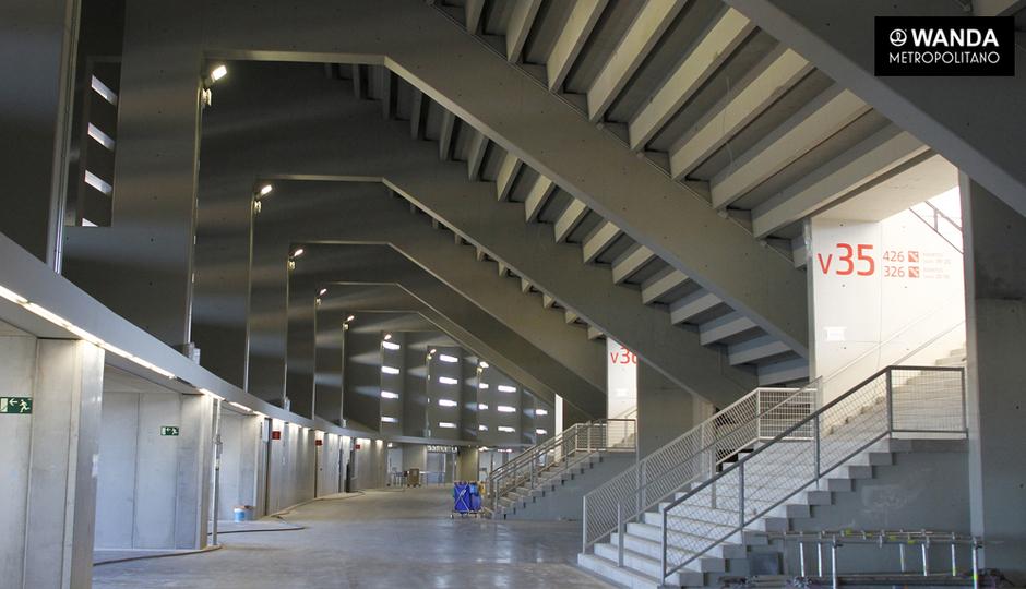 Wanda Metropolitano | 11/09/2017 | Pasillos interiores