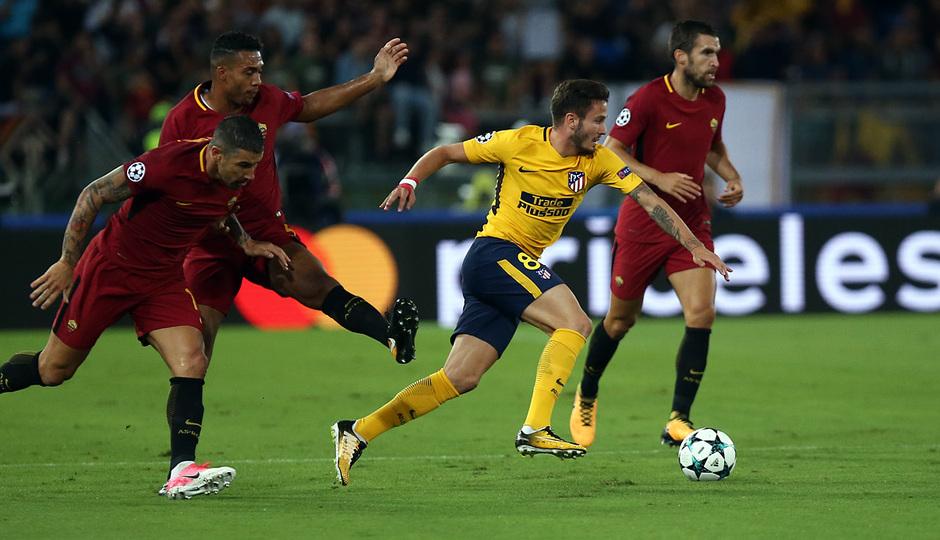 Temp. 17-18 | Roma- Atlético de Madrid | Saúl