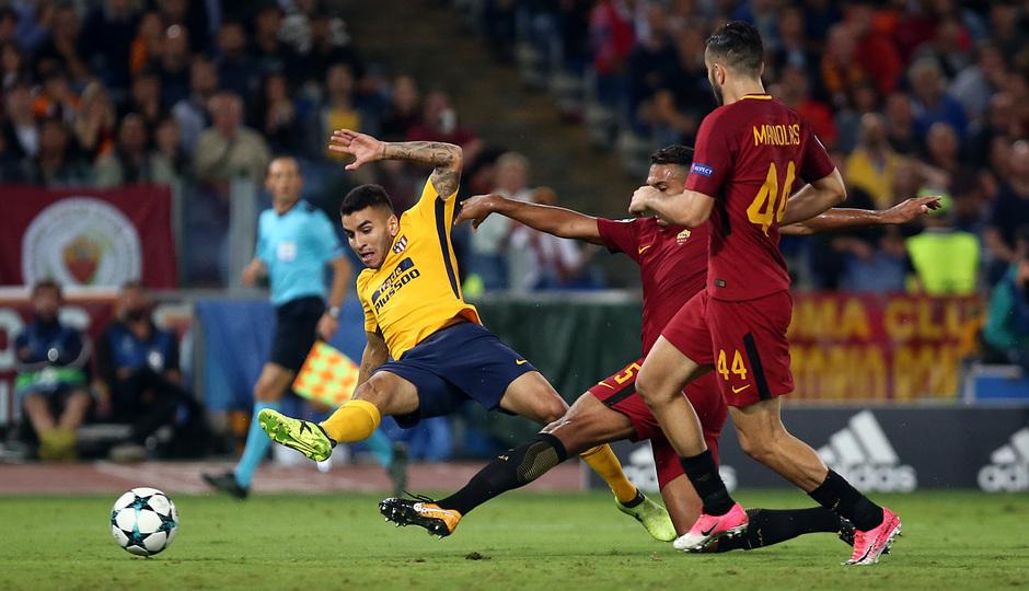 Temp. 17-18 | Roma- Atlético de Madrid | Correa