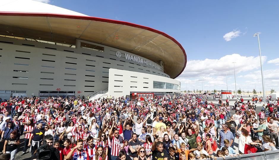 Inauguración Wanda Metropolitano | 16/09/2017 | Fan Zone musical