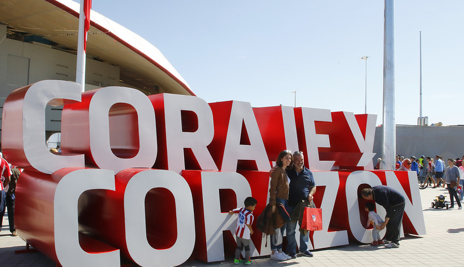 Inauguración Wanda Metropolitano | 16/09/2017 | Coraje y Corazón